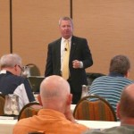 Jim Reber of ICBA gives a quality seminar.
